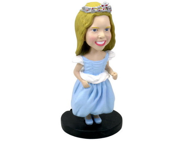 Cute Flower Girl Bobblehead
