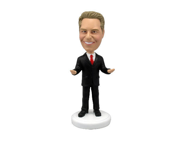 Humorous Businessman Bobblehead