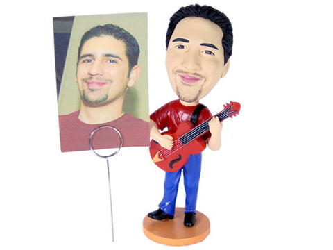 Guitar Player Bobblehead