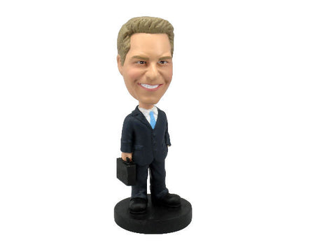 Businessman with Briefcase Bobblehead