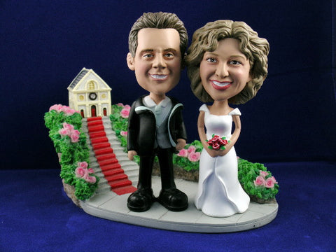 Bobblehead Wedding Day Gift