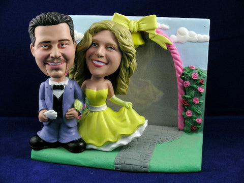 Classic Wedding Photo Bobbleheads