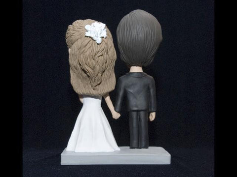 Fully Customized Head to Toe Couple Bobblehead