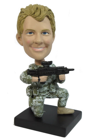 Military Bobblehead