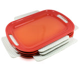 Bakeware Protectors - Set of 3 - Gray & White