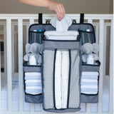 Nursery and Diaper Organizer for Crib and Playard