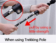 easy to use trekking pole stick hiking