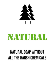 all natural ingredient soap chemical free