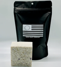 tactical cedarwood charcoal soap