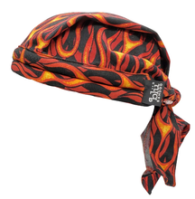 motorcylce flame doo rag cooling water activated unisex