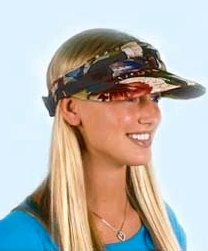Cooling Visor |Water Activated With Cooling Crystals Reversible