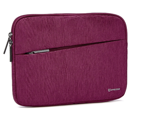EVECASE IPAD PRO 9.7 INCH/IPAD AIR 2/ASUS ZENPAD 3S 10 TABLET SLEEVE, WINE RED