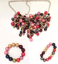Pink Pizzazz Necklace & Bracelets