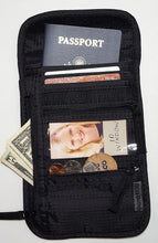 RFID Blocking - Security Safety Neck Pouch (Cross-Body)