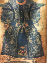 Qing Dynasty Imperial Princess Ancestor Portrait Antique 17th Century Court Robe