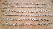 Sterling Silver .950 Bracelet Gift for Women Love Chain Mexico 6 Styles U CHOOSE