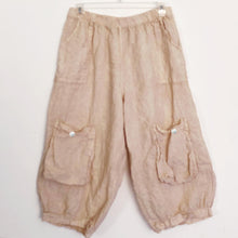 "Shabby by Lalia Moon ""Mia"" Pants Bloomers One Size Linen Victorian Tea Stained One Size from M to 1X"