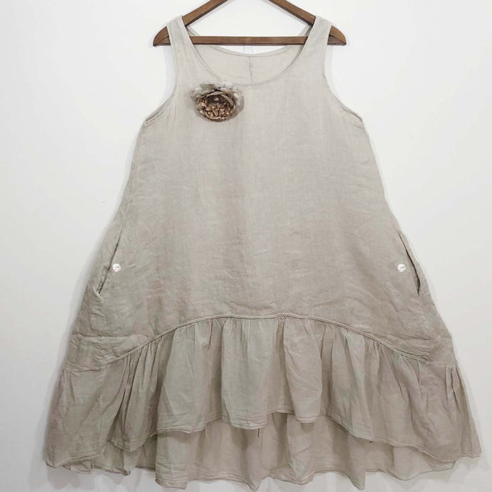 Shabby by Lalia Moon Dress One Size S M L Natural
