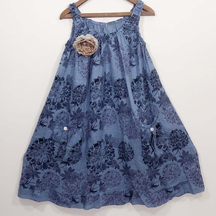 Shabby by Lalia Moon Dress One Size L XL 1X 2X Blue