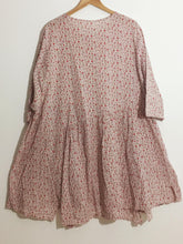 "Shabby by Lalia Moon ""Effie"" Dress One Size Lagenlook Antique Rose 1X 2X 3X"