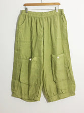 "Shabby by Lalia Moon ""Mia"" Pants Bloomers One Size Linen Victorian Green One Size from L to 1X"