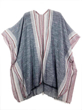 Imakokuu Kimono Jacket Handpainted Natural Fibers Art to Wear Artisan Southwestern