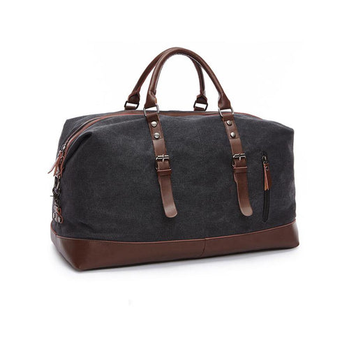Canvas weekend duffel bag - Travel Store
