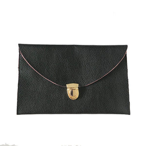 Travel document clutch wallets