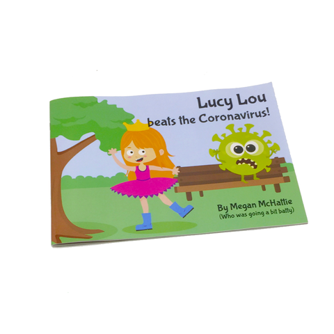 Lucy Lou beats the Coronavirus picture book - Travel Store