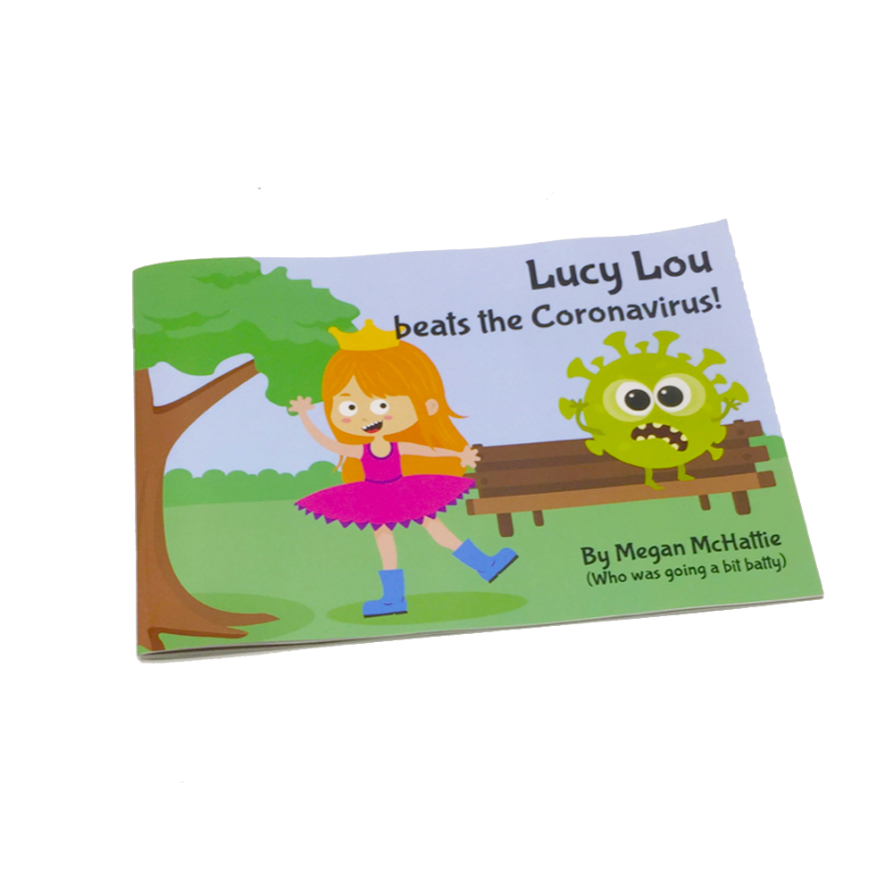Lucy Lou beats the Coronavirus picture book