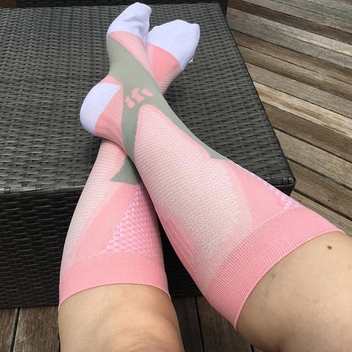 Compression travel socks