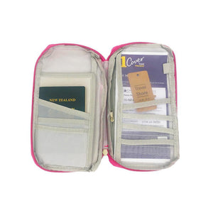 Travel document wallets