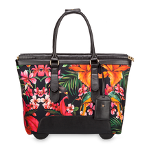 Load image into Gallery viewer, Swiss Floral cabin bag by Vera May