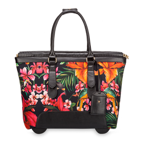 Swiss Floral cabin bag by Vera May