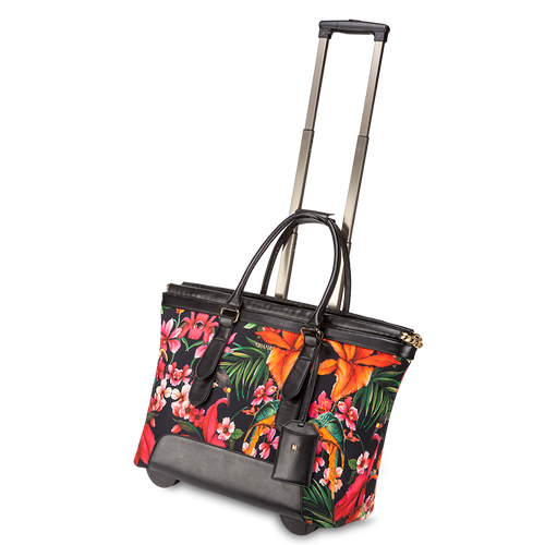 Swiss Floral cabin bag by Vera May - Travel Store