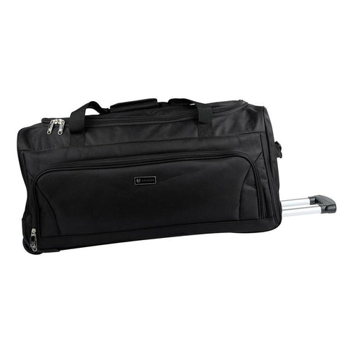 Wheeled duffel bag with extendable handle