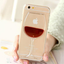 Load image into Gallery viewer, Wine glass iPhone cover