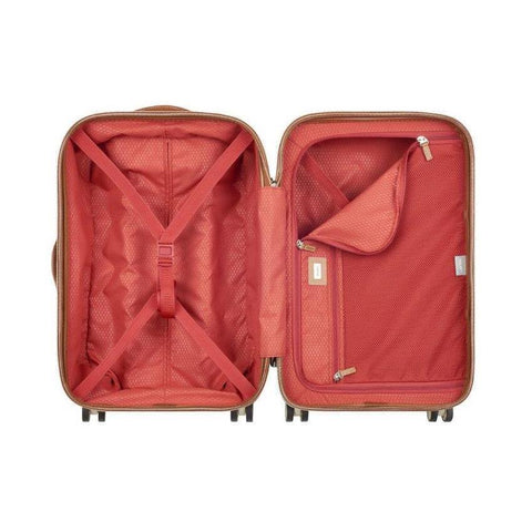 Delsey Chatelet suitcase open