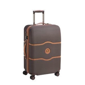 Delsey Chatelet chocolate suitcase medium