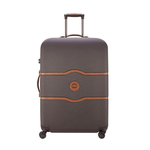 Delsey Chatelet chocolate suitcase
