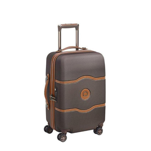 Delsey Chatelet chocolate suitcase cabin