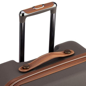 Delsey Chatelet chocolate suitcase handle