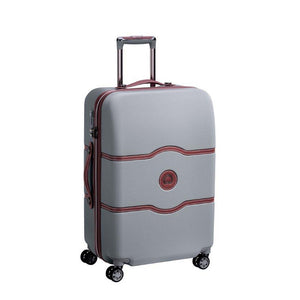 Delsey Chatelet silver luggage
