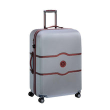 Load image into Gallery viewer, Delsey Chatelet silver luggage large