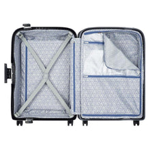 Load image into Gallery viewer, Delsey Moncey luggage black open