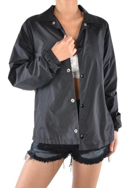 Not Your Babe Collared Jacket - newdwear