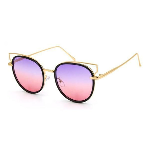 Ombre Sunglasses- Purple