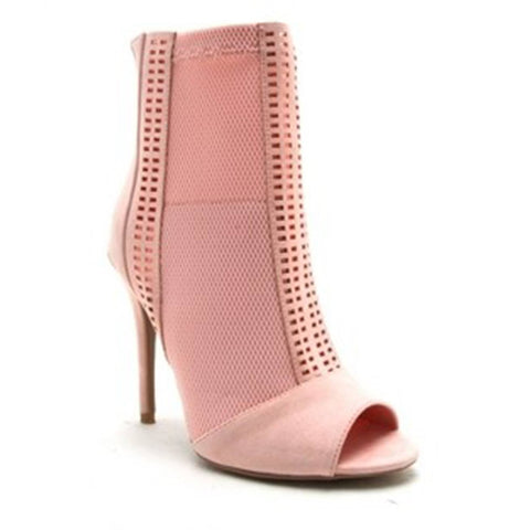 Open-Toe Ankle Bootie