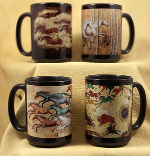 Mugs--Great big heavy mugs.