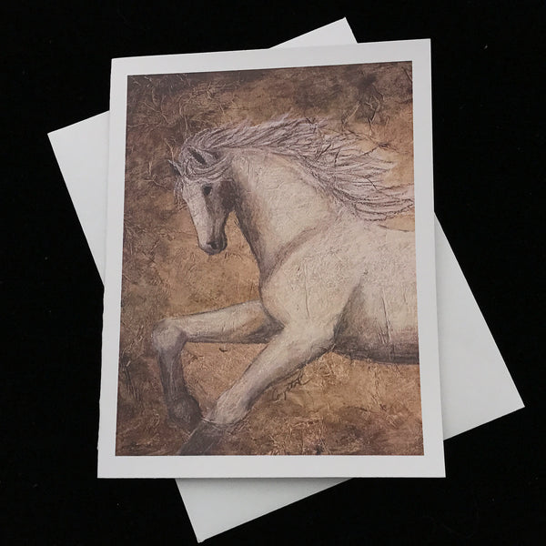 Baroque Stallion Notecards